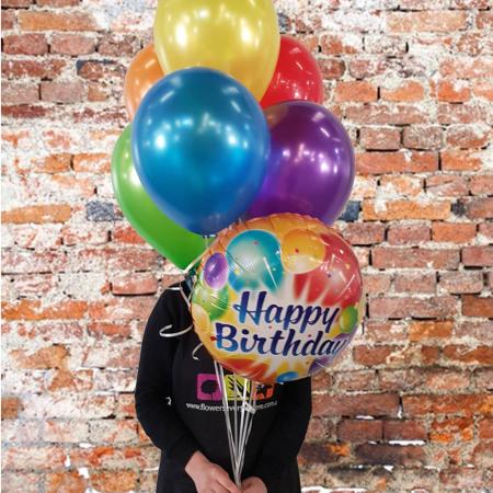 Balloons Adelaide Happy Birthday Balloon Bouquet
