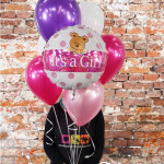 Its a girl Balloon Bouquet